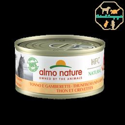 HFC NATURAL Thon et Crevettes 70g ALMONATURE